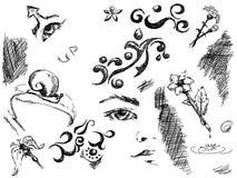 doodles Стоковые Фото