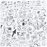 Doodles Obrazy Royalty Free