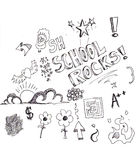 Doodles Royalty Free Stock Photos