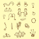 doodles απεικόνιση αποθεμάτων