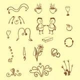 doodles Στοκ Εικόνες