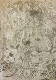doodles Royalty-vrije Stock Afbeeldingen