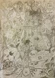 doodles Immagini Stock Libere da Diritti