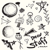 Doodles Collection royalty free illustration