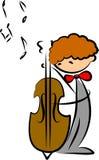 Doodles da música ilustração royalty free