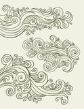 Doodles design elements Royalty Free Stock Photography