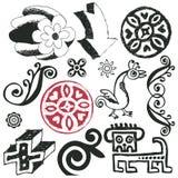 Doodles engraçados Imagem de Stock Royalty Free