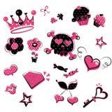 doodles girlish одичалое Стоковая Фотография