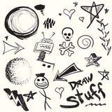 Doodles Inkasowi Fotografia Royalty Free