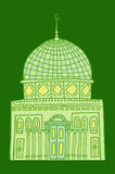 Doodles of mosques Royalty Free Stock Images