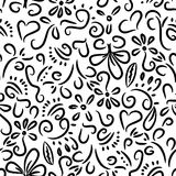 Doodles pattern Royalty Free Stock Photos