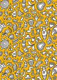 Doodles pattern Stock Images