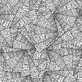 Doodles seamless pattern Royalty Free Stock Images