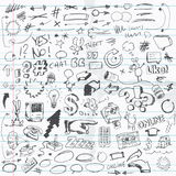 Doodles Royalty Free Stock Images