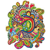 Doodles - Vector Illustration Royalty Free Stock Images