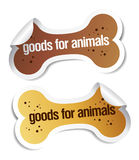 Doods for pets stickers Stock Images