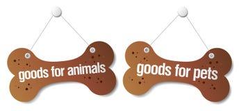 Doods pour des signes d'animaux familiers Image libre de droits