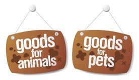 Doods voor huisdierentekens vector illustratie