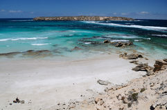 Doodskistbaai, het Schiereiland van Eyre, Zuid-Australië Royalty-vrije Stock Afbeeldingen