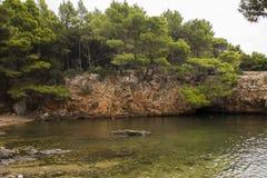 Doodsoverzees, Kroatië Royalty-vrije Stock Afbeeldingen