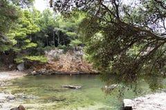 Doodsoverzees, Kroatië Royalty-vrije Stock Afbeelding