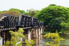 Doodsspoorweg, Thailand Stock Foto's