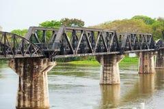 Doodsspoorweg, Thailand Royalty-vrije Stock Foto's
