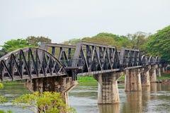 Doodsspoorweg, Thailand Stock Foto