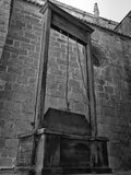 Doodstraf: de guillotine Stock Foto's