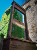 Doodstraf: de guillotine Royalty-vrije Stock Foto's