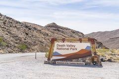 05-16-17, doodsvallei, Californië, de V.S.: het nationale pari van de doodsvallei stock foto's