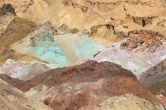 Doodsvallei - Kunstenaarspalet Stock Afbeeldingen