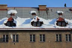 Dooi van sneeuw Royalty-vrije Stock Afbeelding