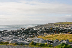 Doolin beach, county Clare, Ireland Royalty Free Stock Images