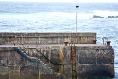 Doolin Pier, county Clare, Ireland Royalty Free Stock Images