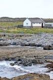 House on Doolin beach, county Clare, Ireland. Doolin`s Bay, The Burren, County Clare, Ireland Royalty Free Stock Photos