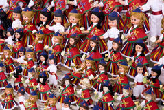 Dools with costumes typical of Madeira Stock Photo