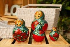 Dools russes de babushka Photos libres de droits