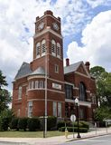 Dooly County Courthouse. This is a Summer picture of he Dooly County Courthouse located in Vienna, Georgia in Dooley County.  This Courthouse was designed by W.H Stock Image