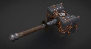Doomhammer Fotografie Stock