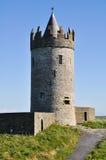 Doonagore城堡,爱尔兰 库存照片