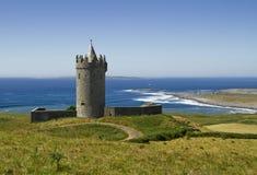 Doonagore castle. In Doolin - Ireland Royalty Free Stock Images