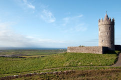 Doonagore Castle. In the western part of Ireland Royalty Free Stock Photo