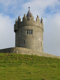 Doonagore Castle. Near the Doolin, Ireland royalty free stock photography