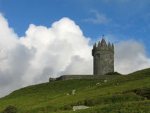 Doonagore Castle. Near the Doolin, Ireland royalty free stock images