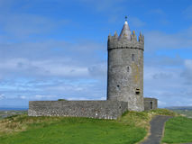 Doonagore Castle. Near the Doolin, Ireland stock photo