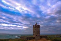 Doonagore castle stock images
