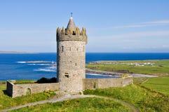 Doonagore castle, County Clare, Ireland. Doonagore castle, County Clare, (Ireland Stock Photos