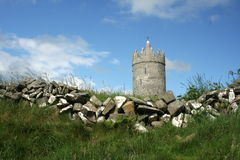 Doonagore Castle, Doolin. A view of Doonagore Castle in Doolin, County Clare, Ireland royalty free stock images