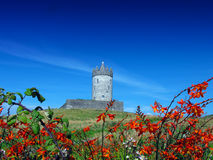 Doonagore castle Doolin Co. Clare Ireland. On a summers day Royalty Free Stock Images